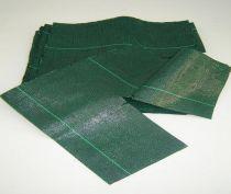 Collerettes de paillage : Verte - 100 pièces - 30X30 cm / 40X40cm / 50x50cm