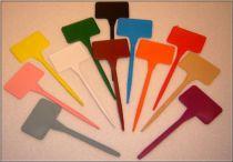 Étiquettes à piquer en polypropylène. : Idéale pour identifier les semis