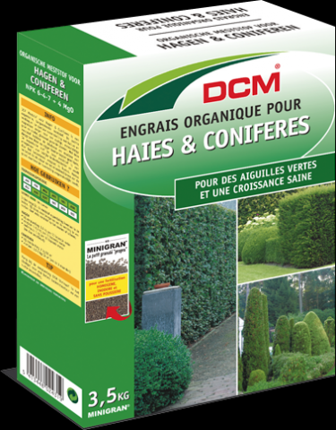 ENGRAIS HAIES IFS CONIFERES DCM : 3,5 KG