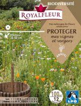 Mélanges de Fleurs pour PROTEGER mes vignes et vergers : 100 m²