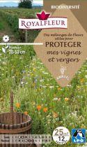 Mélanges de Fleurs pour PROTEGER mes vignes et vergers : pour 25 m²