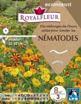 Mélanges de Fleurs utiles pour limiter les NEMATODES : pour 8 m²