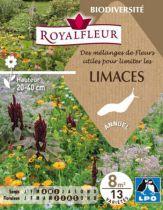 Mélanges de Fleurs utiles pour limiter les LIMACES : pour 25 m²