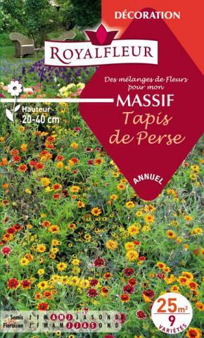 Mélanges de Fleurs MASSIF Tapis de Perse : pour 25 m²