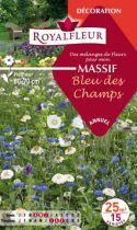 Mélanges MASSIF Bleu des Champs : pour 25 m²