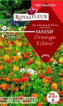Mélanges MASSIF Orange Eclair : pour 25 m²