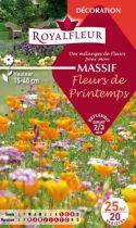 Mélanges MASSIF Fleurs de Printemps : pour 25 m²