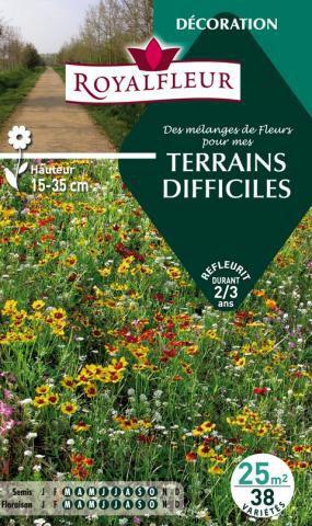Mélanges TERRAINS DIFFICILES- : pour 25 m²