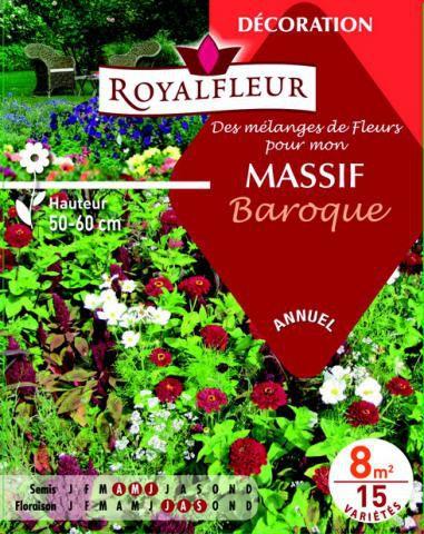 Mélanges MASSIF Baroque : pour 8 m²