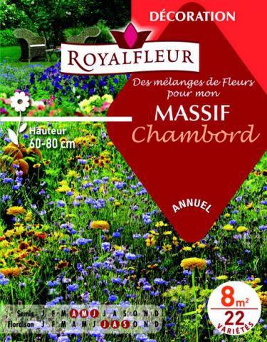 Mélanges MASSIF Chambord : pour 8 m²