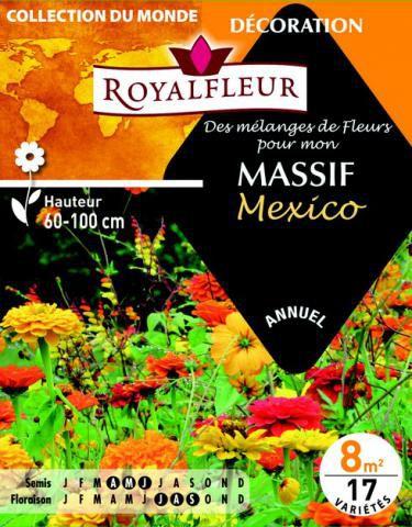 Mélanges MASSIF Mexico : pour 8 m²
