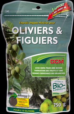 Engrais Oliviers & Figuiers DCM : 750 gr