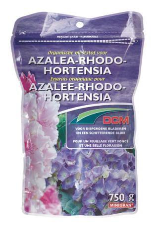 Engrais Rhodo-Hortensia-Azalée DCM : 750 gr