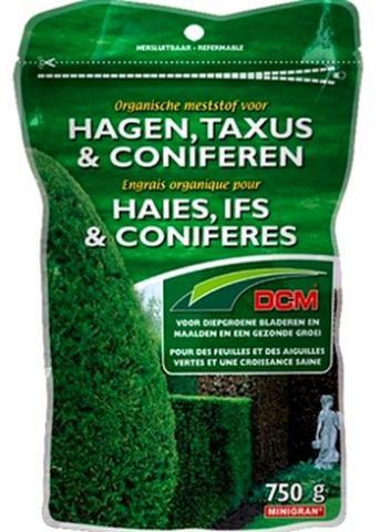 ENGRAIS HAIES IFS CONIFERES DCM  : 750 Gr