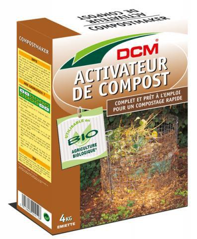 ACTIVATEUR DE COMPOST DCM : 4 KG