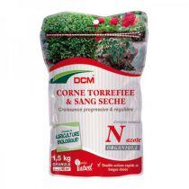 Corne torréfiée et sang mélangé DCM : 1.5 KG