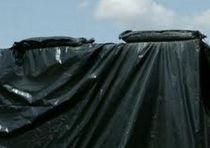Bâche noire standard type ensilage : 8 x 42 mètres - 150 microns