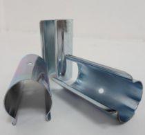 Clips de fixation pour bâches de serre et film de serre : 25 pièces en acier de 32 mm de diamètre