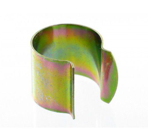 Clips de fixation pour bâches et film de serre : 25 pièces en acier de 32 mm diamètre x 30 mm de large