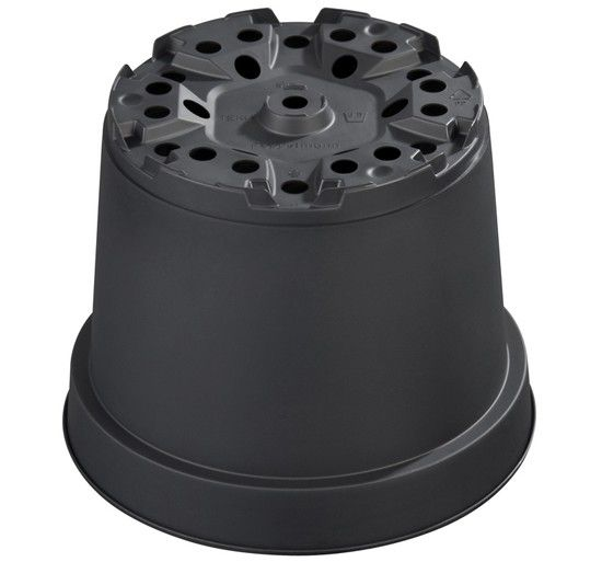 Pot de culture Thermoformé noir MCI 19 : 3 litres - 75 pièces