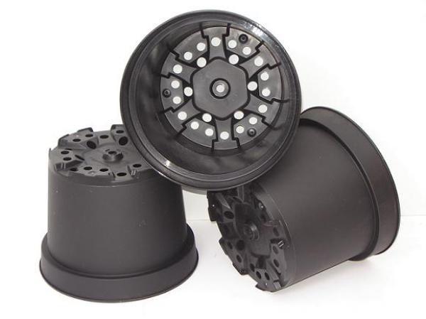 Pot de culture Thermoformé noir MCI 21 : 4 litres