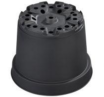 Pot de culture Thermoformé noir MCI 26 : 7.5 litres