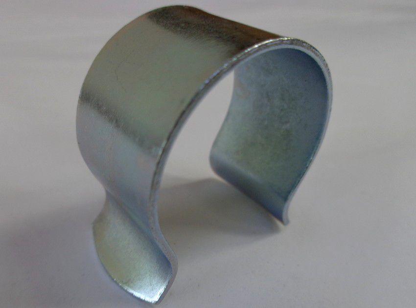 Clips de fixation pour bâches et film de serre : 25 pièces en acier de 32 mm diamètre x 20 mm de large