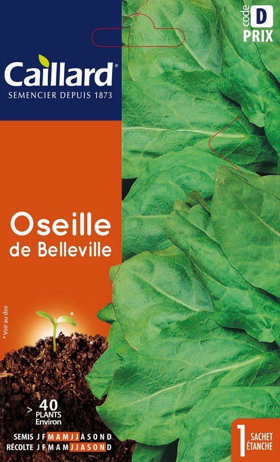 OSEILLE - DE BELLEVILLE