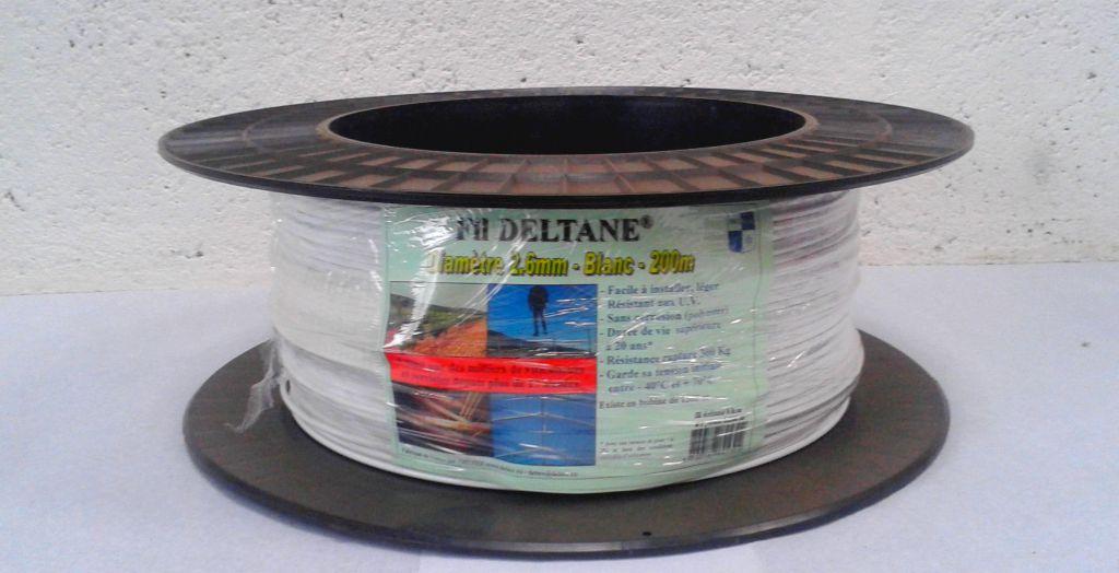 Fil Polyester Pro spécial serre : Ø2.6mm - bobine de 200ml