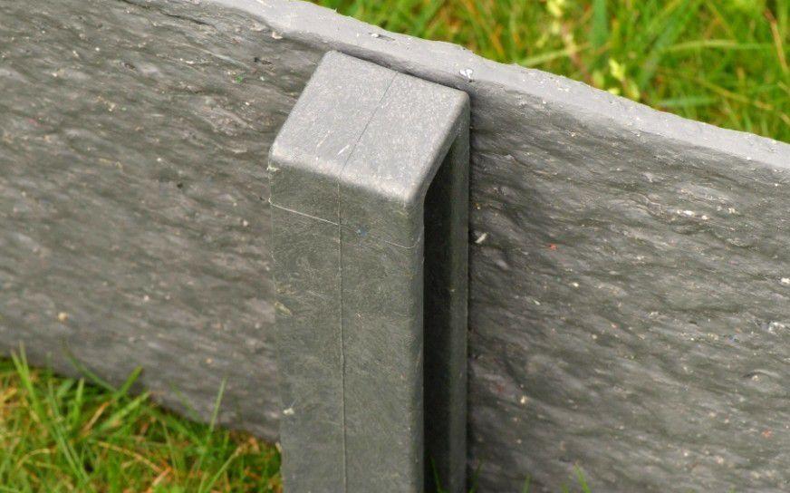 Piquets Ecopic® H-profilé : Paquet de 10 - Hauteur 38 centimètres