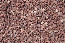Gravillon de Granit Rouge : Calibre 8/16 mm - sac de 20 Kg