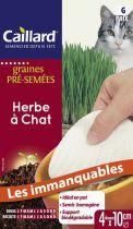 Herbe à Chat Caillard : tapis de graines pré-semées