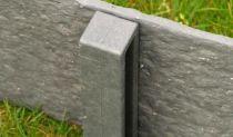 Piquets Ecopic® H-profilé : Paquet de 10 - Hauteur 58 centimètres