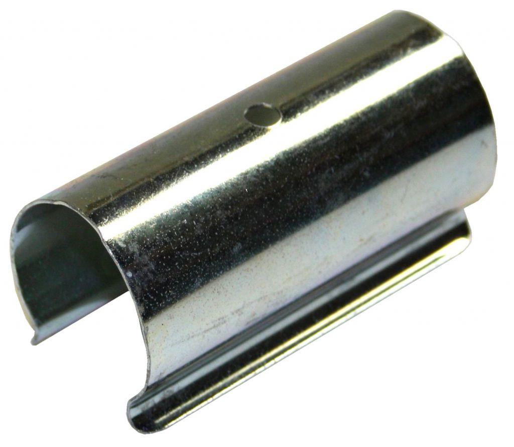 Clips de fixation pour bâches et film de serre : 25 pièces en acier de 38 mm diamètre x 70 mm de large