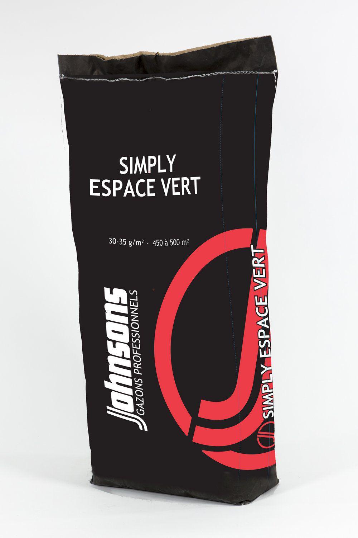 GAZON JOHNSONS SIMPLY ESPACE VERT : sac de 15 kg