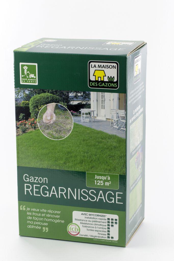 GAZON REGARNISSAG  MDG : boîte de 1 kg /  boîte de 2.5 kg / sac de 10 kg