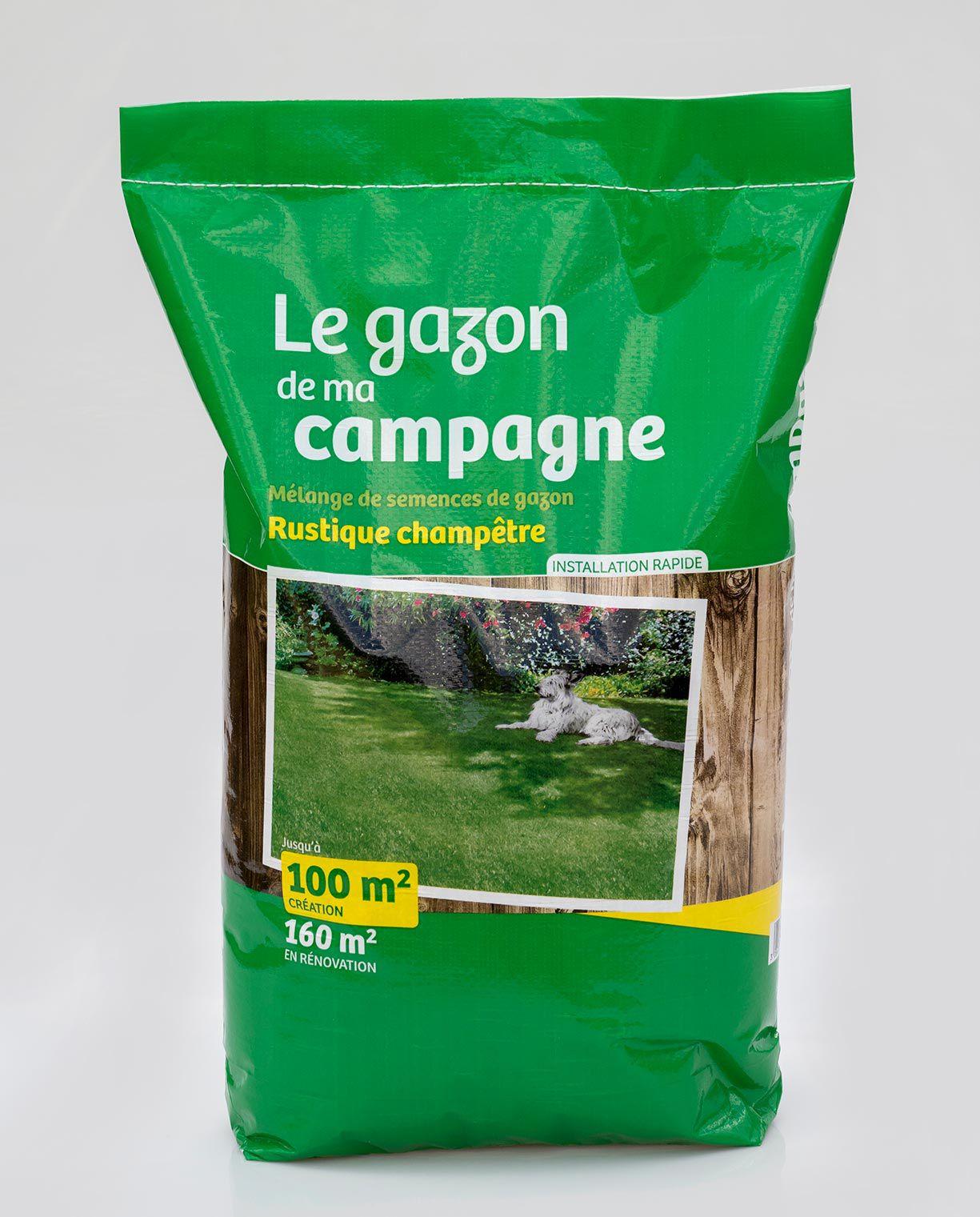 LE GAZON DE MA CAMPAGNE  : Sac de 3 kg - Sac de 10 kg