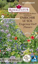 Mélanges de Fleurs pour ENRICHIR LE SOL Engrais Vert Fleuri : pour 25 m²
