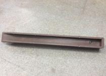 Piquet Ecopic® H-profilé : marron - hauteur 38 cm